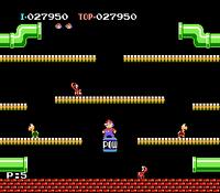 Fase 5 Mario Bros. versión NES