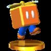 Trofeo de Mario Bloque Hélice SSB4 (3DS)
