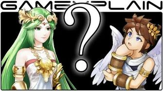 Unused Palutena's Guidance in Smash Bros Wii U
