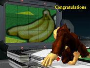 Créditos Modo Clásico Donkey Kong SSBM