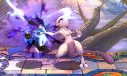 Golpiza Mewtwo SSB4 (3DS)