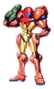 Samus Aran Super Metroid