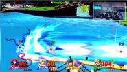 Samus usando Laser Zero E3 2014 SSB4 (Wii U)