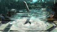 Toque final Cloud (4) SSB4 (Wii U)