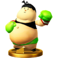 Trofeo de Little Mac (Captain Rainbow) SSB4 (Wii U)