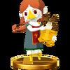Trofeo de Medli SSB4 (Wii U)