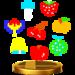 Trofeo de las Frutas de bonificación SSB4 (Wii U)