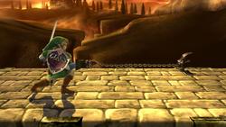Agarre normal de Link (1) SSB4 (Wii U)