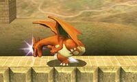 Ataque smash lateral de Charizard (1) SSB4 (3DS)