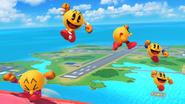 Créditos Modo Senda del guerrero PAC-MAN SSB4 (Wii U)