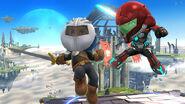 Espadachines Mii con trajes personalizables SSB4 (Wii U)