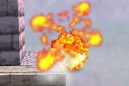 Explosión de la mina de proximidad SSB
