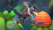 Falco en El gran ataque de las cavernas SSBU