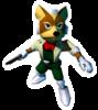 Pegatina Fox Star Fox 64