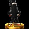 Trofeo de CommanderVideo SSB4 (Wii U)