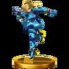 Trofeo de Samus Zero SSB4 (Wii U)