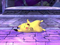 Burla inferior Pikachu SSBB