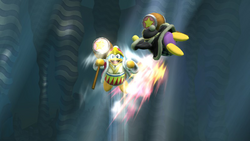 Dedede ascendente (2) SSB4 (Wii U)