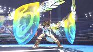 Orbitales escudo de Pit SSB4 (Wii U)