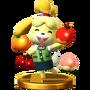 Trofeo de Canela SSB4 (Wii U)