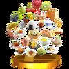 Trofeo de Comida SSB4 (3DS)