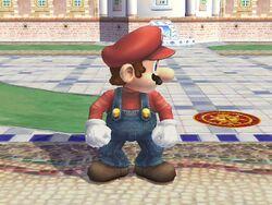 Burla hacia arriba Mario SSBB