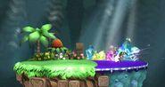 El gran ataque de las cavernas (Versión Omega) SSB4 (Wii U)