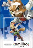 Embalaje del amiibo de Fox (Japón)