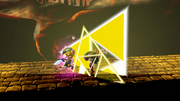 Golpe Trifuerza (Toon Link) (5) SSB4 (Wii U)