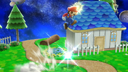 Supersalto Puñetazo Mario SSB4 (Wii U)