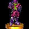 Trofeo de Captain Falcon (alt.) SSB4 (3DS)
