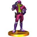 Trofeo de Captain Falcon (alt.) SSB4 (3DS)