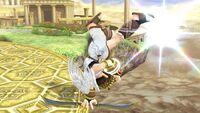 Ataque de recuperación desde el borde (1) Pit SSB4 Wii U