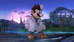 Burla hacia arriba Dr. Mario SSB4 (Wii U)