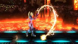 Burla lateral de Samus Zero (2) SSB4 (Wii U)