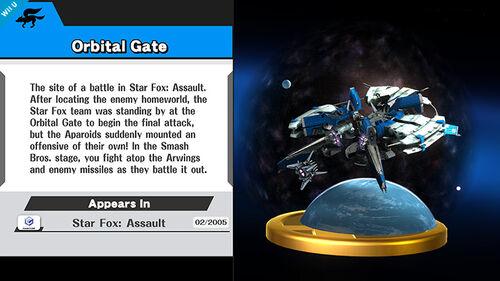 Trofeo de la Estacion Espacial SSB4 (Wii U) (2)