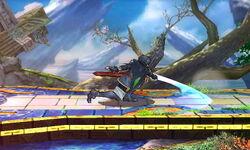 Ataque Smash hacia abajo (2) Lucina SSB4 (3DS)