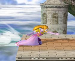 Ataque de recuperación desde el borde 100% de Zelda SSBM
