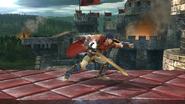 Ataque normal de Ike (1) SSB4 (Wii U)