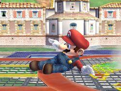 Ataque rápido Mario SSBB