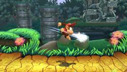 Cabriola mortal (3) SSB4 (Wii U)