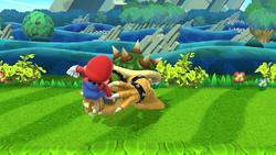Lanzamiento delantero de Bowser (1) SSB4 (Wii U)