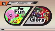 Modos de Juego Online SSB4 (Wii U)