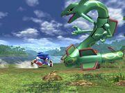 Sonic contra Rayquaza SSBB