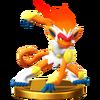 Trofeo de Infernape SSB4 (Wii U)