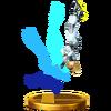 Trofeo de Samus Zero (alt.) SSB4 (Wii U)