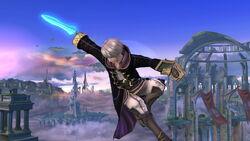 Ataque aéreo (2) Robin SSB4 (Wii U)