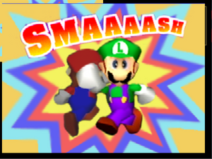 Créditos 1P Game Luigi SSB