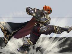 Ganondorf Ataque Smash hacia abajo 1