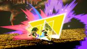 Golpe Trifuerza (Toon Link) (4) SSB4 (Wii U)
